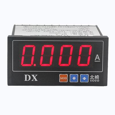 DX系列-數顯電流表【雙通道】【固定量程:1A和5A】