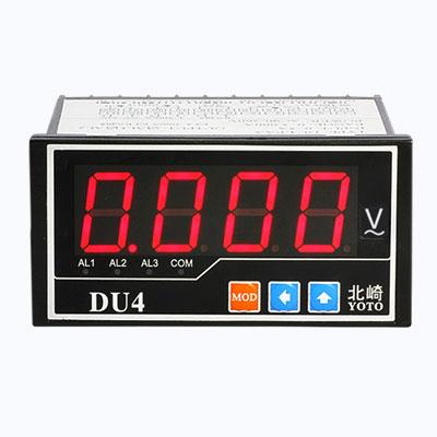 DU4系列-数显电压表【快速采样,上下限报警/RS485通讯/4~20ma】
