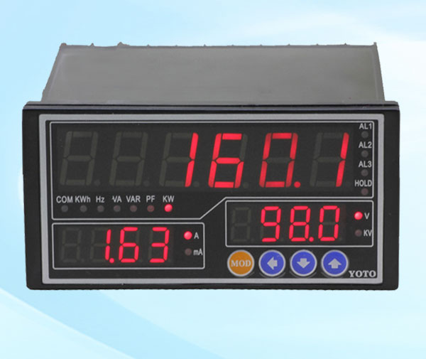 DW8系列-单相智能电参数表