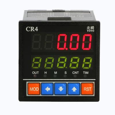 CR系列-脉冲计数器【可接收正弦波/方波脉冲,高低电平,人工按键信号】